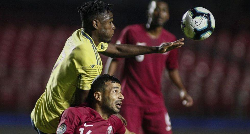 Duván Zapata suma dos goles en la Copa América 2019