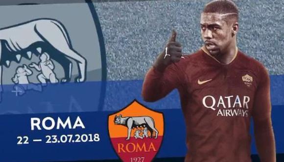 Zenit usó a Malcom y se burló de la Roma por su ''fichaje por un día''. (Twitter)