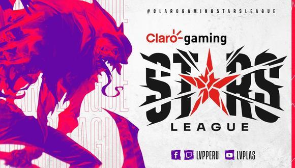 Claro Gaming Stars League 2021. (Difusión)
