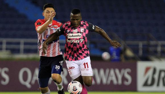 Bogotá prohíbe los partidos de Libertadores y Sudamericana. (Foto: AFP)
