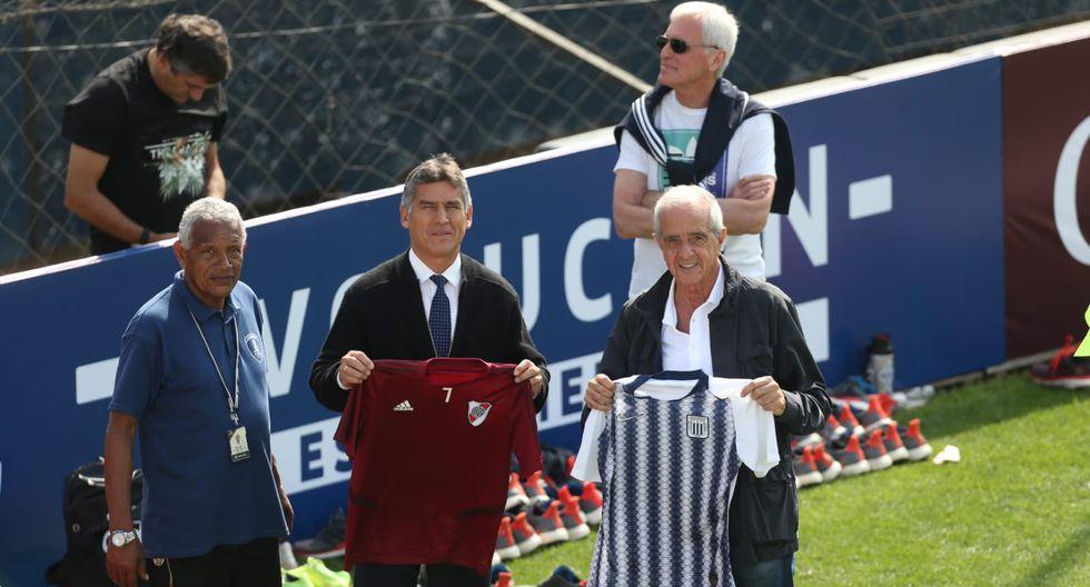 Alianza Lima y River Plate intercambiaron camisetas. (Foto: GEC)