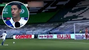 Santiago Ormeño pide convocatoria a punto de goles