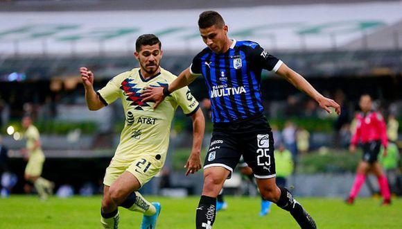 América empató 2-2 con Querétaro por Apertura 2019 Liga MX en el estadio Azteca. (Getty)