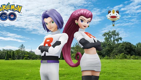 Pokémon GO: ¿hasta cuando se puede luchar contra Jessie y James del Equipo Rocket? (Foto: Niantic)