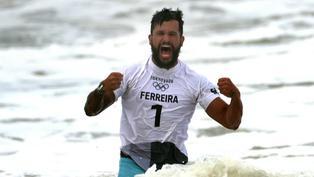 Tokio 2020: Italo Ferreira se corona como primer campeón olímpico en surf