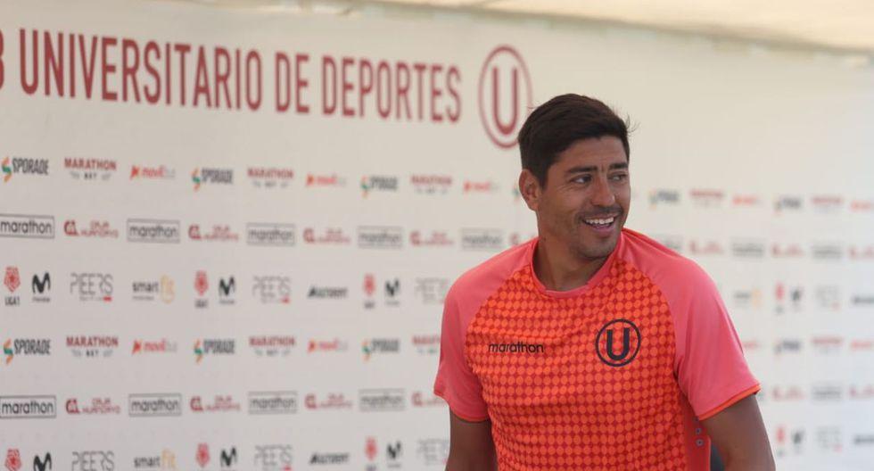 Nicolás Córdova llegó a Universitario a mediados del 2018. (Foto: Daniel Apuy)