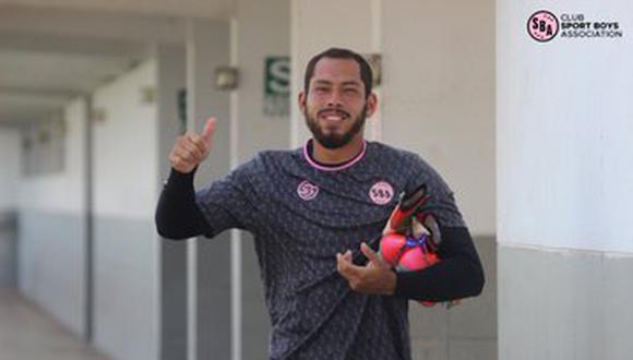 Álvarez disputará la temporada 2021 de la Liga 1 con Sport Boys. (Foto: Sport Boys)
