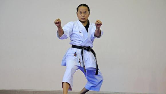 Medallistas de karate se preparan en Videna para clasificar a Tokio 2020