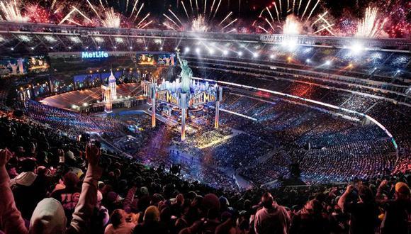 WrestleMania es el evento más grande de la WWE. (WWE)