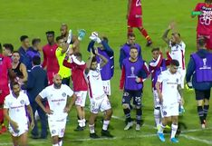 La celebración del 'Rojo Matador' tras su pase a la fase 2 de la Copa Sudamericana [VIDEO]