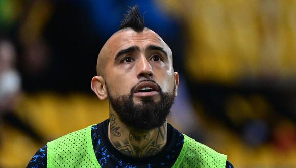 Arturo Vidal fue sometido a una operación a la rodilla a inicios de marzo. (Foto: AFP)