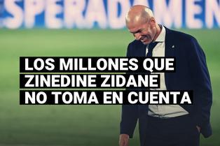 Real Madrid y la fortuna que gasta en delanteros que Zidane no toma en cuenta