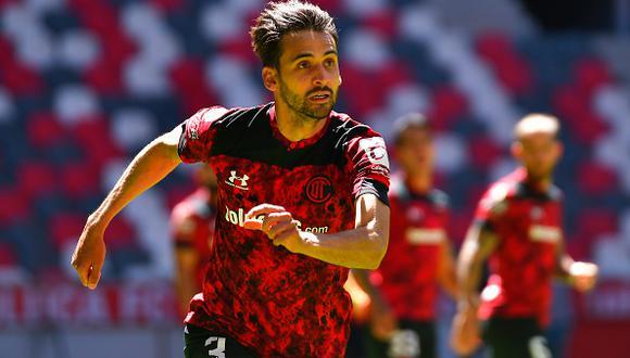 Raúl López fue uno de los jugadores destacados de Toluca en el último torneo (Foto: Getty Images)
