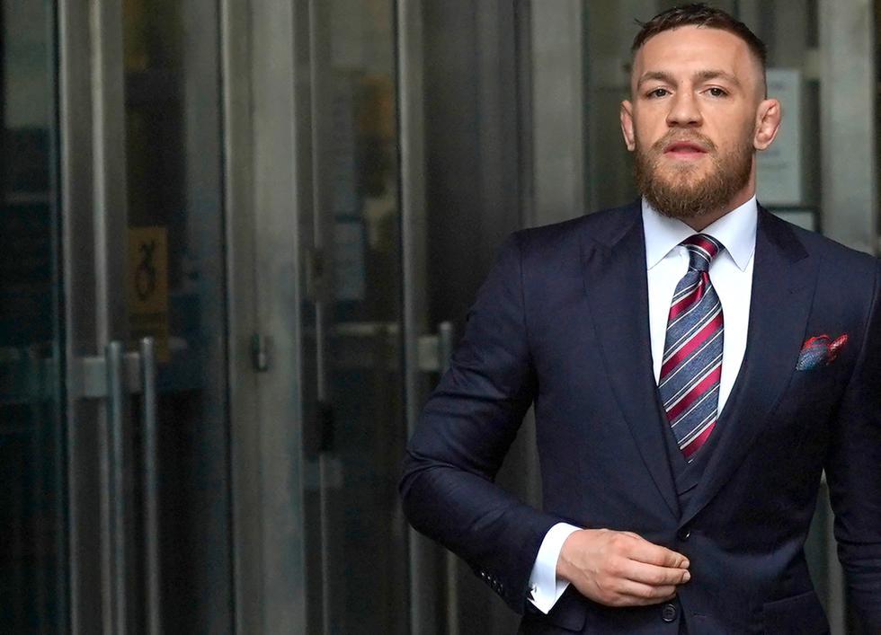 Conor McGregor encabeza la lista de los atletas mejor pagados del 2021. (Difusión)
