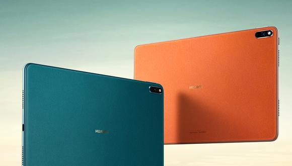 Estas son todas las características de la tablet con conectividad 5G: la Huawei MatePad 5G. (Foto: Huawei)