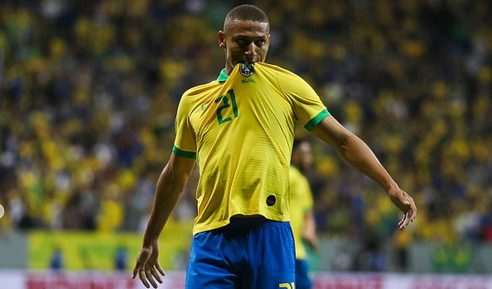 Brasil vs. Qatar en amistoso internacional de fecha FIFA. (Foto: Getty Images)
