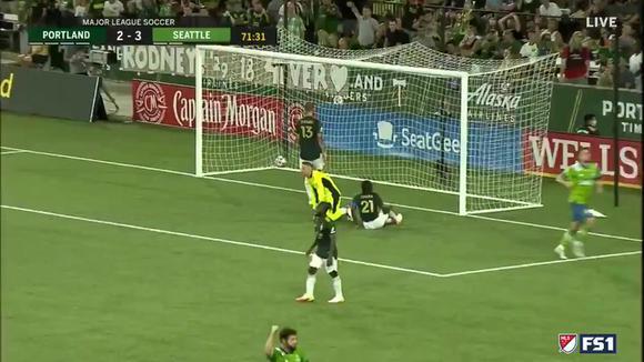 Doblete de Raúl Ruidíaz en el Seattle Sounder vs. Timbers   Video: @SoundersFC