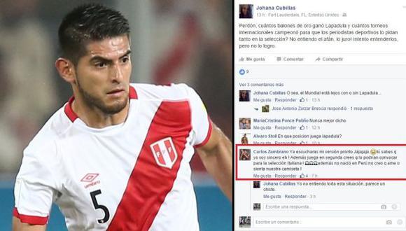 Carlos Zambrano fue citado por Ricardo Gareca para los partidos con Venezuela y Uruguay. (Foto: Depor / Facebook)