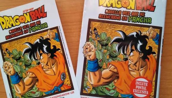 """""""La vez que me reencarne en Yamcha"""" es un manga derivado escrito y dibujado por Dragon Garow Lee, que se publica en la revista de manga digital Shōnen Jump Plus de Shueisha. (Foto: Dragon Garow Lee)"""