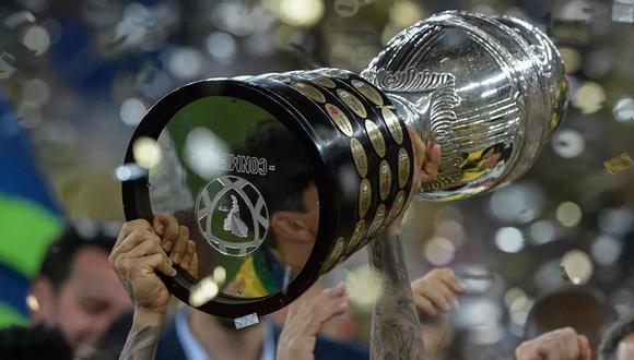 Las cuotas de DoradoBet para la final de la Copa América 2021 Argentina vs Brasil. (Foto: AFP)