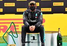Hamilton logra su primera victoria de la temporada en Gran Premio de Estiria