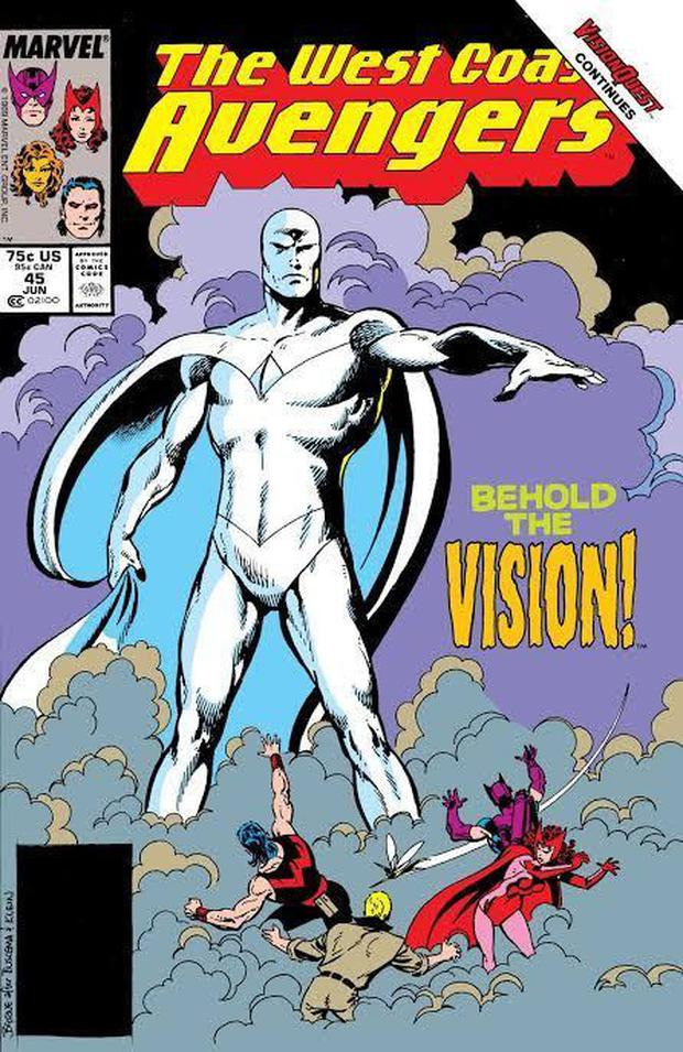 Cómics de Marvel que cuentan la historia de Wanda y Vision