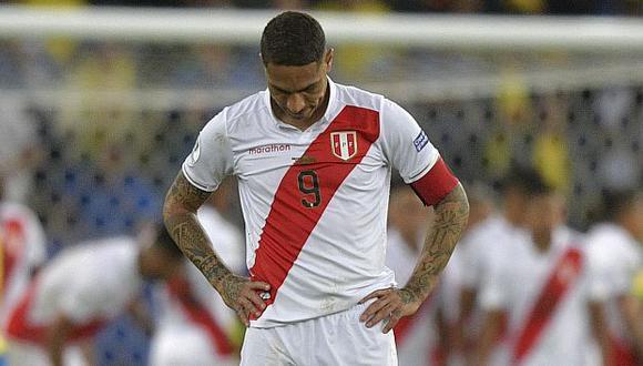 Paolo Guerrero recibió emotivo mensaje de la Selección Peruana.  (Foto: AFP)