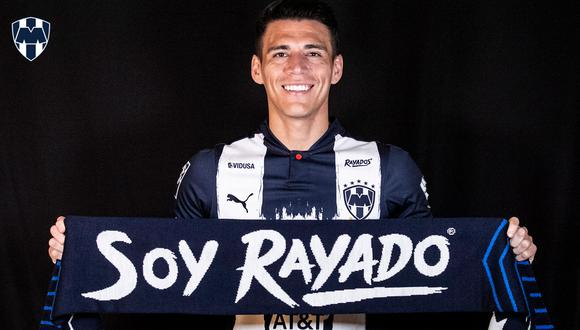 Héctor Moreno firmó con Monterrey de cara al Apertura 2021 de la Liga MX (Foto: @Rayados)