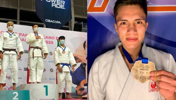 Javier Saavedra ganó la medalla de oro en el Campeonato Panamericano 2020 en la categoría Cadetes. (Difusión)
