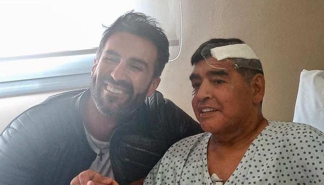 Les propriétés de Leopoldo Luque, le médecin personnel de Diego Maradona, ont été fouillées.  (Photo: EFE)