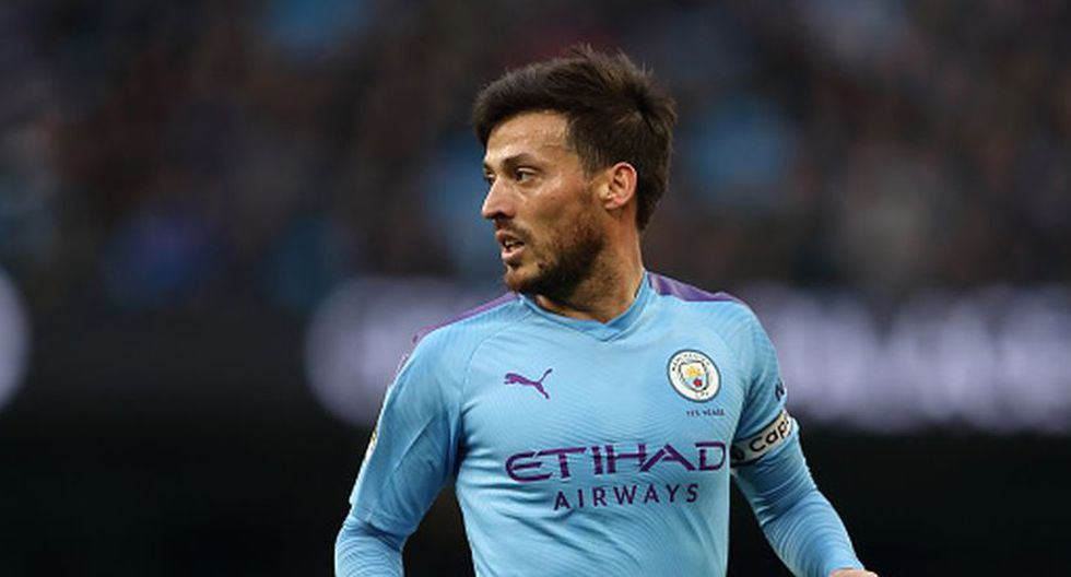 David Silva llegó al Manchester City en la temporada 2010/11. (Getty)