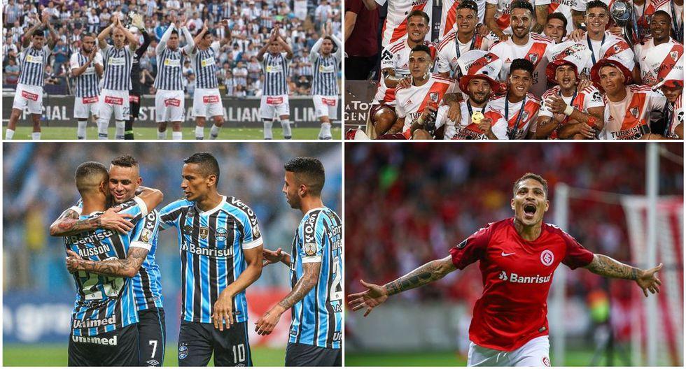 Los equipos más valiosos de la Copa Libertadores 2020. (Getty)