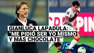 Los pedidos que Ricardo Gareca hizo a Gianluca Lapadula al recibirlo en la Selección Peruana