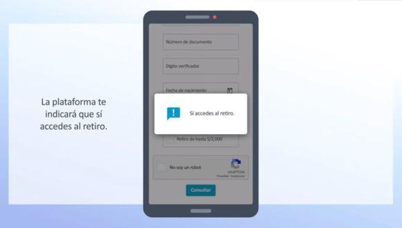 Retiro del 25% de AFP, consulta: revisa los pasos para registrar solicitud y los bancos para que depositen tu dinero. (Foto: Captura)