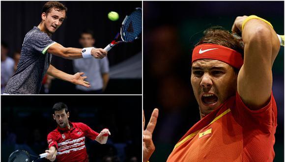 Así quedaron los grupos para las finales de la Copa Davis 2020. (Getty Images)