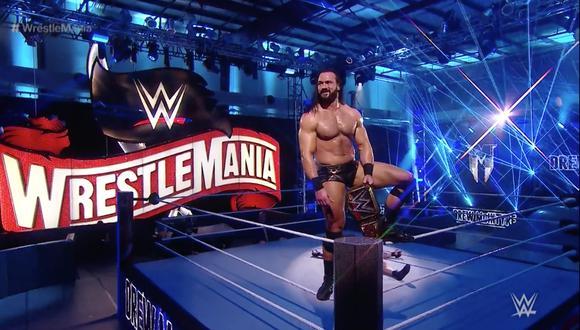 WWE confirmó que WrestleMania 37 se realizará en dos noches el 10 y 11 de abril en Florida. (WWE)