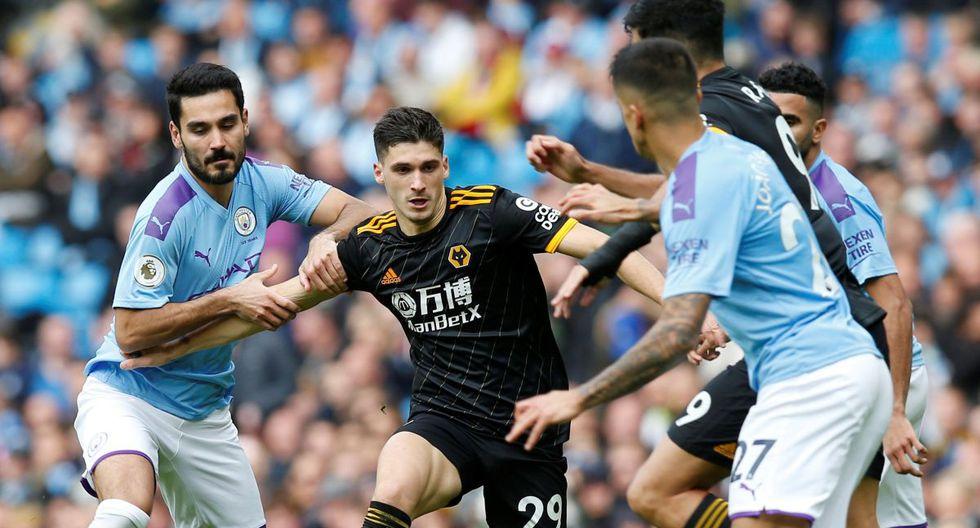 Manchester City perdió 2-0 ante Wolverhampton y se aleja más del Liverpool [VIDEO]