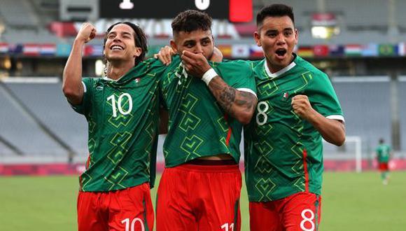México y Brasil se enfrentarán en las semifinales de Tokio 2020. (Foto: Getty)