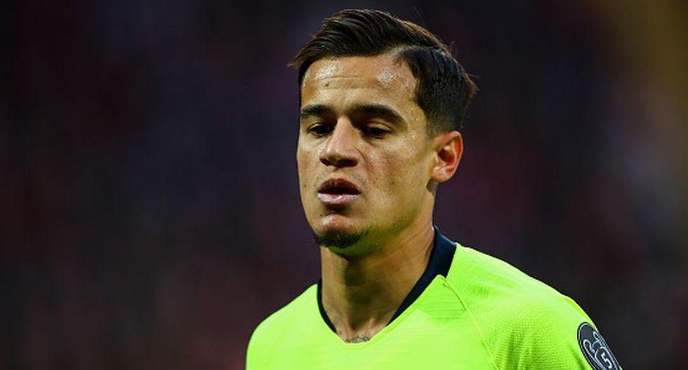 Philippe Coutinho se puede marchar al PSG como 'moneda de cambio' para que Neymar vuelva al Barza. (Getty Images)