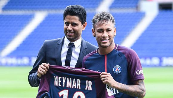 Neymar llegó al PSG para la temporada 2017/18. (Getty)