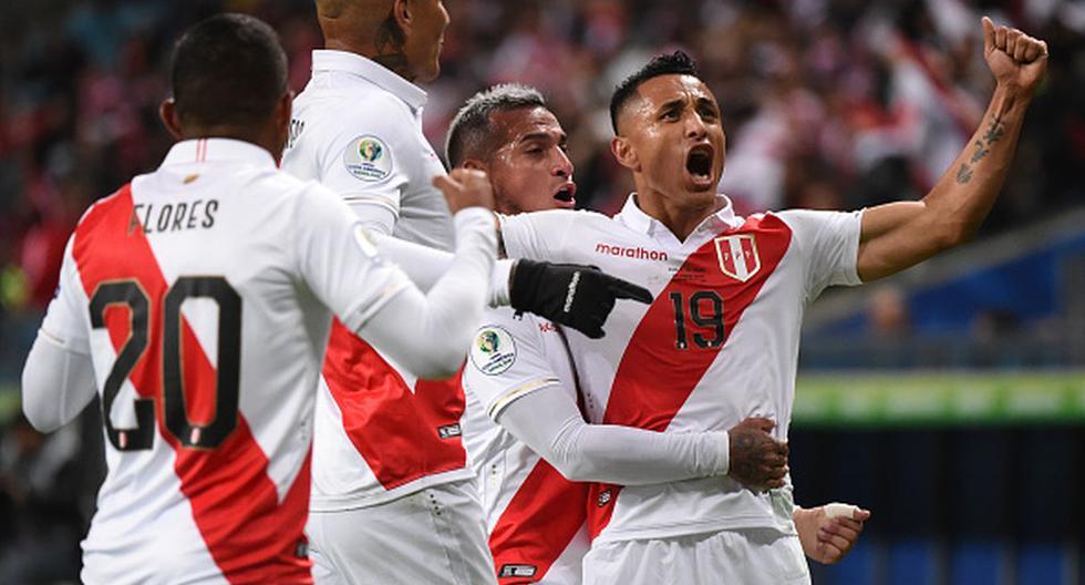 Perú goleó a Chile y ya es finalista de la Copa América. (Foto: Getty Images)