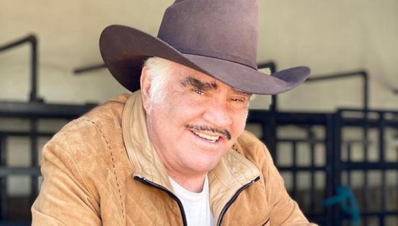 Los familiares de Vicente Fernández siguen conversando sobre el estado del cantante mexicano. (Foto: Instagram  @_vicentefdez)