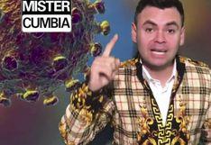 Llegó el cumbión del coronavirus: 'Mister Cumbia' crea contagiosa canción de prevención sobre el virus
