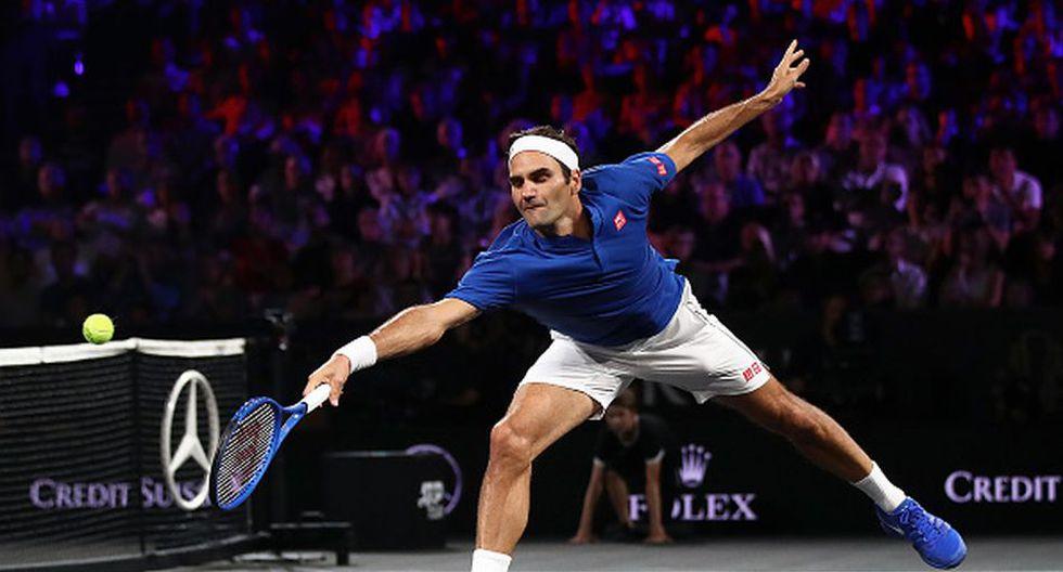 Roger Federer es número 3 del ranking del ATP en la actualidad. (Getty)