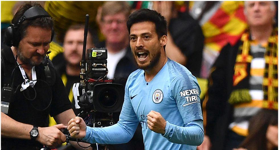 Edad 34: David Silva juega en Manchester City y está valorizado en 16,2 millones de dólares (Foto AFP)