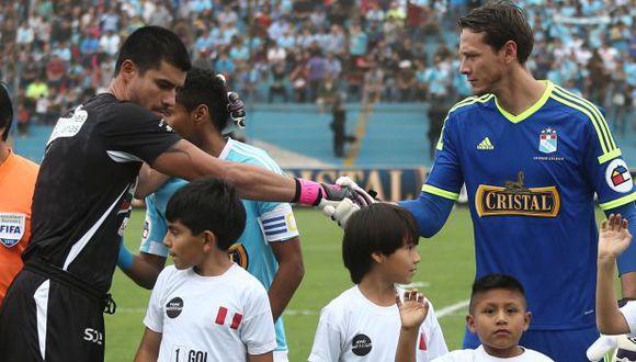 Erick Delgado jugará su primer partido contra Sporting Cristal en el año. (USI)