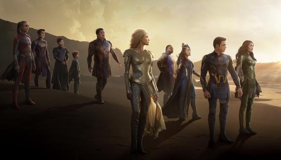 Marvel: Eternals sigue a Shang-Chi y solo estará disponible en cines (Foto: Marvel Studios)