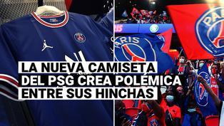"""""""No respeta la historia"""": PSG presentó nueva camiseta y sus hinchas llaman a boicot"""