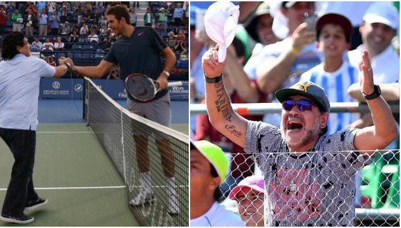 Figuras del tenis se despidieron de Diego Maradona con sentidos mensajes. (Difusión)