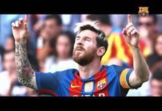Hasta pronto, Leo: el clip de despedida de Lionel Messi de parte del Barcelona